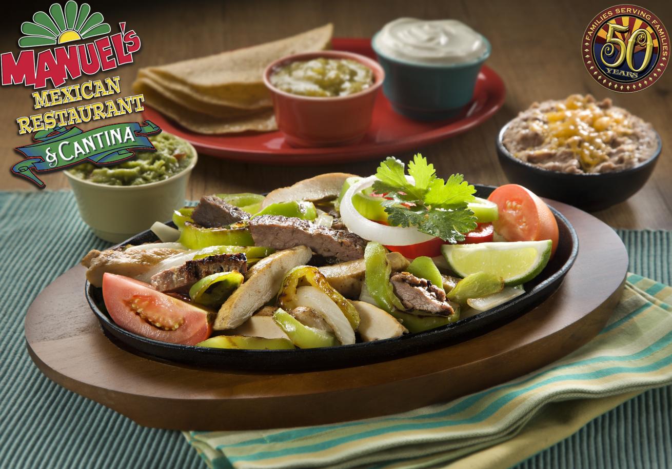 Manuel S Mexican Food Menu Phoenix
